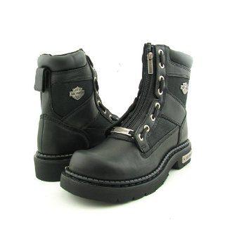 HARLEY DAVIDSON 94178 Canyon Black Boots Shoes Mens 10 Shoes