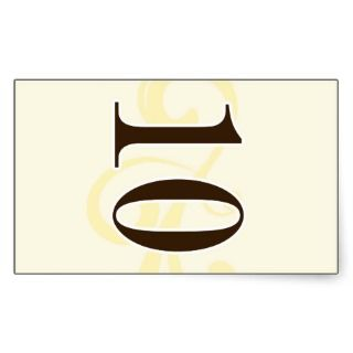 Wine Label Table Number Stickers 10 sticker