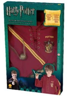 Harry Potter Deluxe Quidditch Costume Kit Clothing