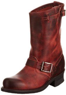 Frye Womens Engineer 12R Boot   Burnt Red Shoes