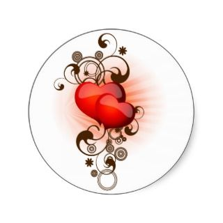 Heart Tattoo Stickers, Heart Tattoo Sticker Designs