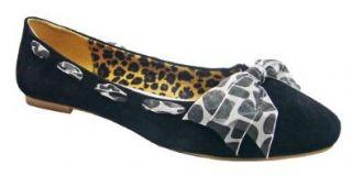 Big & Tall Women Shoes Black Flat Ballerinas 13 Shoes