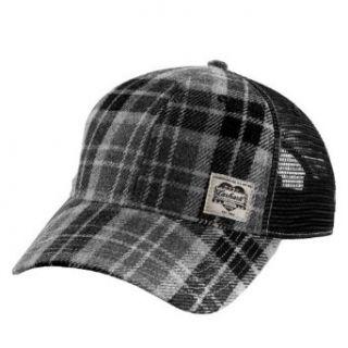 Carhartt   1889 Mesh Cap   Grey Baseball Cap   Mens Tartan