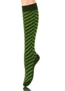 Herringbone Chevron Stripes Knee High Socks 5 Pairs