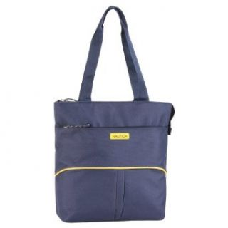 Nautica Luggage Boat Tote Bag, Navy/Yellow, One Size