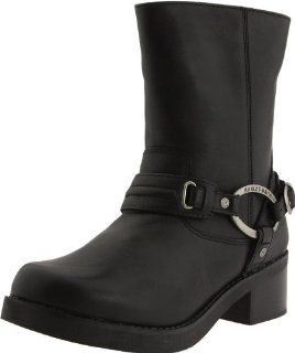 Harley Davidson Womens Christa Harness Boot Shoes