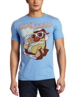 Freeze Mens Mr.Potato Head Half Baked T Shirt, Light Blue