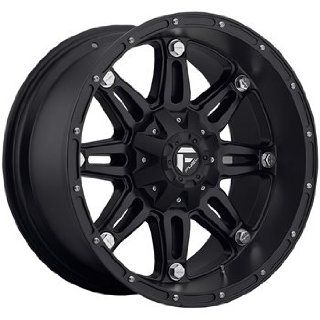 Fuel Hostage 17 Black Wheel / Rim 6x135 & 6x5.5 with a  12mm Offset