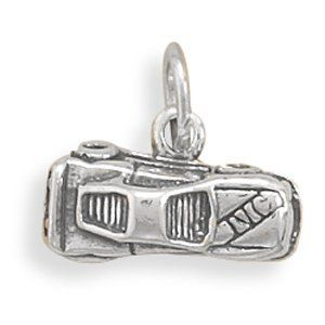 Race Car Charm [Jewelry] Clothing