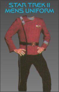 Star Trek 2 Uniform Trousers Costume Pattern Clothing