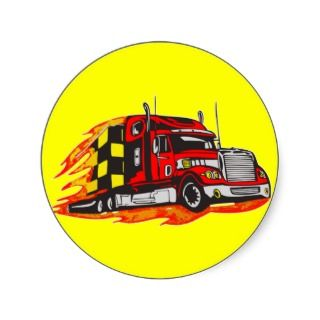 Big Rig Truck Stickers