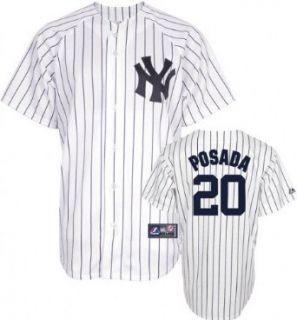 MLB Youth New York Yankees Jorge Posada White/Navy