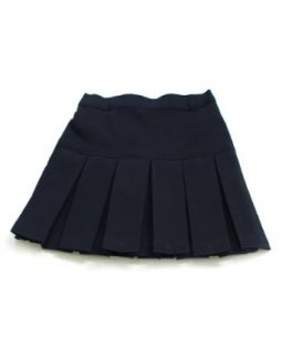 Girls Navy Blue Pleated Scooter Skort School Uniform