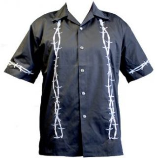 Barb Wire Biker Work Shirt, Dragonfly Clothing