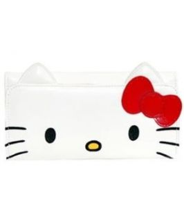 Sanrio Hello Kitty Face Long Wallet Shoes