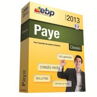 OL 2013   Achat / Vente LOGICIEL BUREAUTIQUE EBP Paye Classic OL 2013
