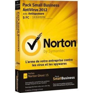 AV 2012 5 postes + Ghost   Achat / Vente ANTIVIRUS Norton AV 2012