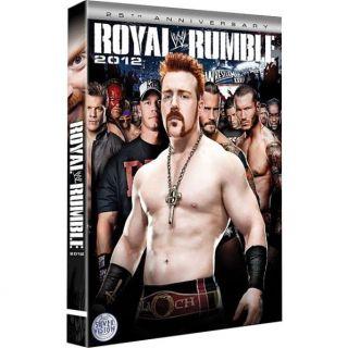 WWE ROYAL RUMBLE 2012 en DVD DOCUMENTAIRE pas cher