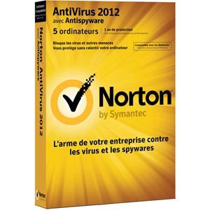 Norton AntiVirus 2012 Small Office Pack (5 PC)   Achat / Vente