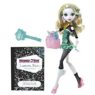 Mattel  Monster High   Lagoona Blue   Retrouve les personnages Monster