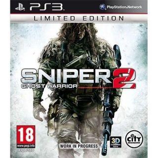 SNIPER GHOST WARRIOR 2 LTD PS3   Précommande, date sortie