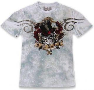 Xzavier Da Grind Slash T Shirt (White/Grey) #M Clothing