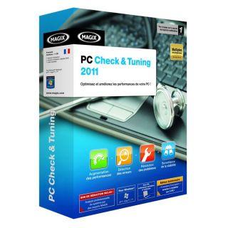 2011   Achat / Vente LOGICIEL LOISIRS MAGIX PC CHECK & TUNING 2011