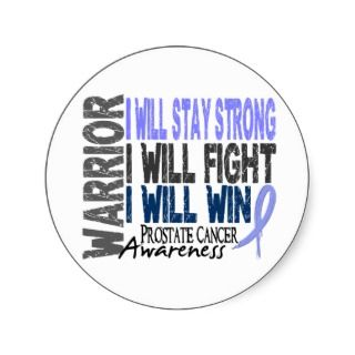 Cancer Ribbon Stickers, Prostate Cancer Ribbon Sticker Designs