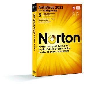 2011 1AN/3Postes   Achat / Vente ANTIVIRUS NORTON ANTIVIRUS 2011