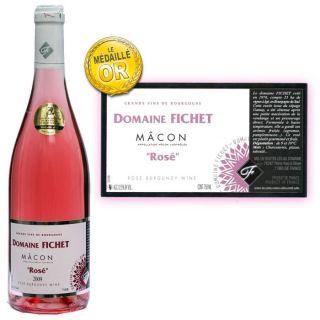 2010   Achat / Vente VIN ROSE Mâcon rosé Domaine Fichet 2010