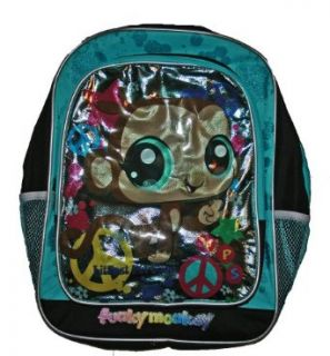 Littlest Pet Shop Funky Monkey School Backpack Clothing