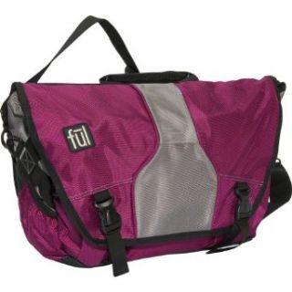 Famous Laptop Messenger Bag (Purple, 12 x 15 x 5.25 Inch) Clothing