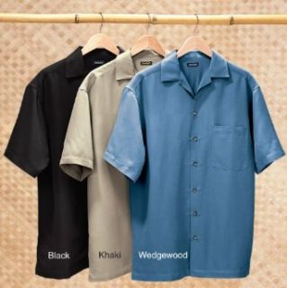 Mens Rivers End® Solid Camp Shirt Clothing