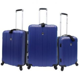 Travelers Choice Luggage Cambridge 3 Piece Hardshell