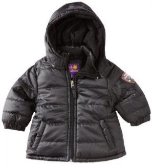 Pink Platinum Baby Girls Infant Promo Puffer Solid Jacket