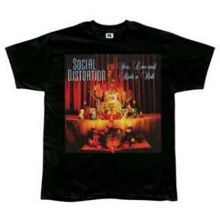 Social Distortion   Shrine Tour T Shirt Clothing