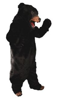 Black Bear Complete Adult Deluxe Costume Size Standard ONE