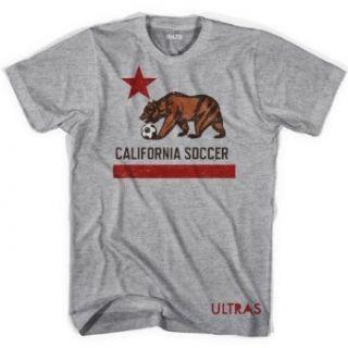 California Flag Soccer T shirt Clothing