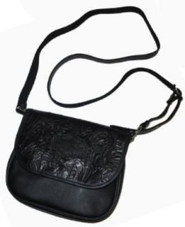 Harley Davidson® Womens Floral Crossbody Black Bag Purse