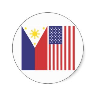 Philippines Flag Stickers, Philippines Flag Sticker Designs