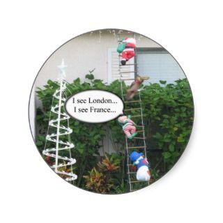 Mischief Elf Christmas Sticker