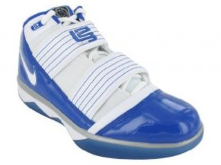 III TB BASKETBALL SHOES 12 (WHITE/VARSITY ROYAL/MET SILVER) Shoes