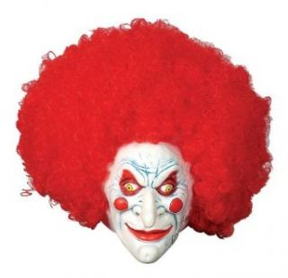 Evil Clown Mask: Clothing