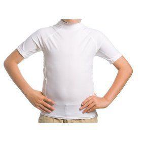 Beach Depot UPF 50+ Kids Short Sleeve Rash Guard Shirt