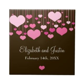 Heartstrings Valentines Tile by starstreamdesign