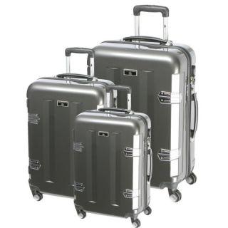 RUE PRINCESSE 3 valises rolley 4 roues Candice Gris foncé   Acha