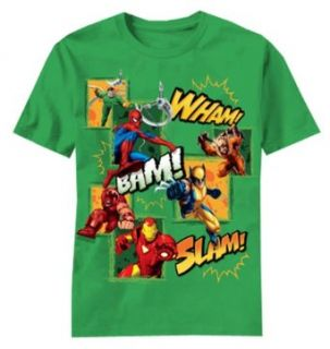 Layered Mask Hero Team Up Juvy Boys T shirt (5/6 yrs