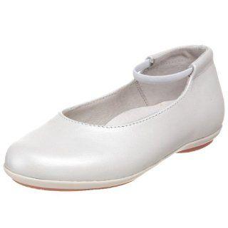Kid/Big Kid),Bianco Leather (100),34 EU (3 3.5 M US Little Kid) Shoes