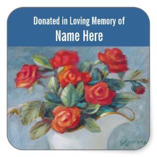 In Loving Memory Stickers, In Loving Memory Sticker Designs