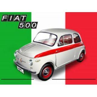 PLAQUE METAL 20X15cm FIAT 500   Achat / Vente TABLEAU   POSTER PLAQUE